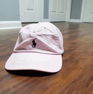 Polo Ralph Lauren  vtg pink Dad Hat